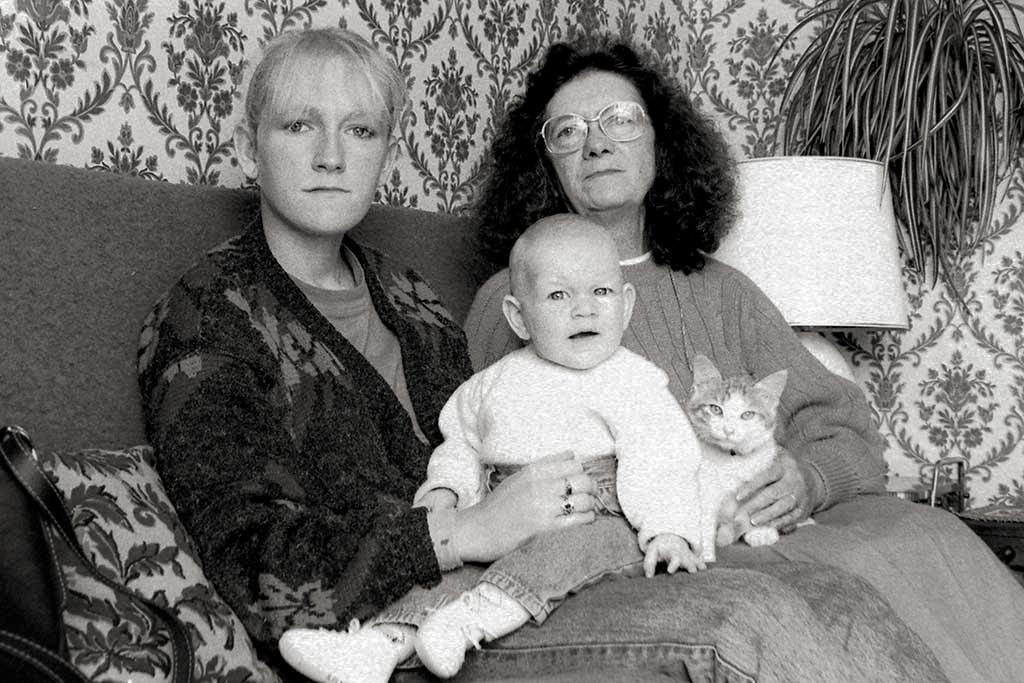 3 générations de femmes