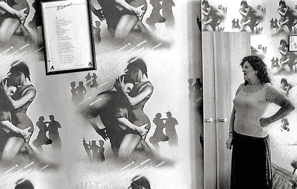 maman dans sa chambre